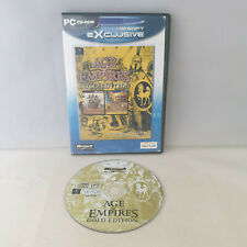 PC CD-Rom - Age of Empires Gold Edition
