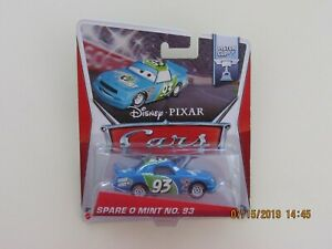 Disney Pixar 2014 Cars 2 PISTON CUP SPARE O MINT NO 93 BLUE CB-G-OE