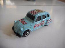"Edocar Citroen 2CV ""Coca COla"" in Light Blue"