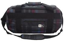 34 Litre Rip Curl MID DUFFLE CHECK Cabin Carry On Overnight Travel Bag - Black