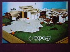 POSTCARD EXHIBITIONS EXPO 67 QUEBEC INDUSTRIES PAVILION