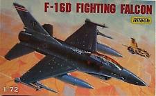 Intech 1/72 F-16D Fighting Falcon Model Kit NIB