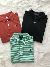 Polo Ralph Lauren And Lacoste Genuine Bundle Tshirts Tops For Boys Age 6 Years