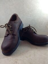 AMERICAN EAGLE Women's Leather Shoes Rugged Oxford Bucks Brown Size 7 Portugal
