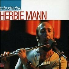 Herbie Mann Introducing CD NEW SEALED 2006 Jazz