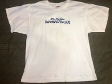 RARE Vintage 5th Annual Snowball Concert shirt System Of A Down, Foo Fighters