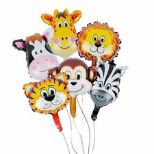 Animal Head Balloons Helium Foil Ballons Baby Shower Birthday Party Decoration**