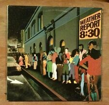 WEATHER REPORT - 8:30 DOULBLE LIVE LP, ARC 1979 PC2 36030 -  NM