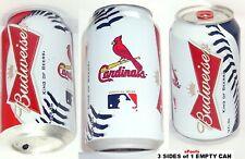 2013 ST.LOUIS CARDINAL MAJOR LEAGUE BASEBALL MLB BUDWEISER BUD BEER CAN MISSOURI