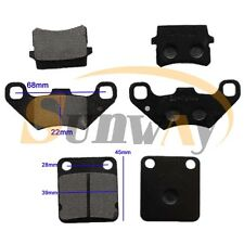 Front + Rear Brake Pads For Bashan BS200S-7 200cc BS250S-11B Quad Bike ATV
