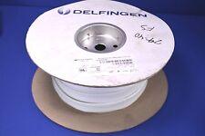 "100' Delfingen 1/2"" Nu-Sleeve Hi-Volt 7000 VAC Fiberglas Braided Sleeving"
