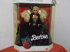 """VINTAGE """"BARBIE..HAPPY HOLIDAYS""""....1991....NEW IN BOX...PACKAGING IS DAMAGED"""