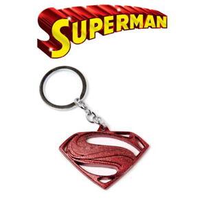 Superman Key Ring Metal