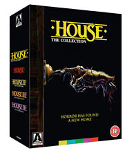 HOUSE The Collection [Blu-ray] 1985-1992 Arrow Video UK 1-4 Movie Box Set Horror