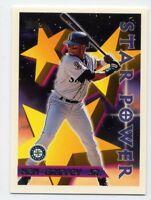 1996 Topps KEN GRIFFEY JR Rare STAR POWER SUBSET CARD #230 Seattle Mariners HOF