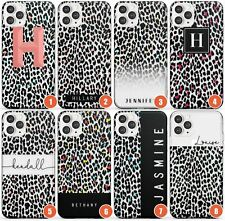 Personalised Transparent Leopard Prints Slim Phone Case for iPhone | Animal Prin