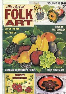 folk Art book - The Art of Folk Art Vol-18