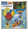 MICKEY MOUSE PATTERN TILES SET Melissa & Doug x Disney Preschool Shape Toy 3+