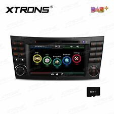 "7"" Car Radio DVD GPS SatNav Stereo Headunit for MERCEDES Benz E-W211 CLS W219"