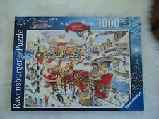 Ravensburger 1000 Piece Puzzle Which Way Santa Limited Edition
