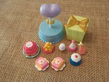 Littlest Pet Shop Birthday Party Lot! Food DessertCake Presents Hats D28