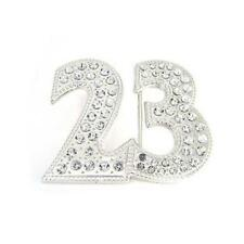 Jodran 23 Number Basketball Sport Clear Rhinestones HIP HOP Metal Belt Buckle