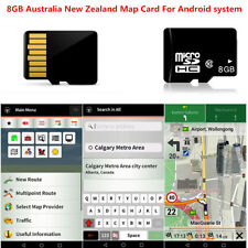 8Gb Micro Sd Card Car Gps Navigation Software For Android System Australia Map