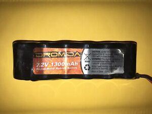 """New"" DIDC1033 Dromida 6-Cell 7.2V 1300mAh NiMH DB/BX/MT/SC/DT/TC 4.18"