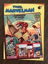 YOUNG MARVELMAN vol 3 #227 L Miller 1957 Alan Moore VF+ UK Comics Silver Age