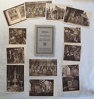 12 Ansichtskarten Postkarten Goslar Niedersachsen Rathaus Huldigungssaal um 1925