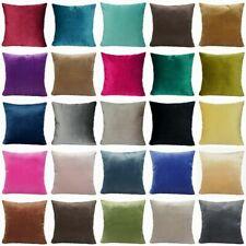 "Throw Pillow Cover Soft Velvet Microfiber Decorative Bedding Cushion Case 20x20"""