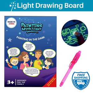 Drawing Book for Kids Tracing Light Draw Board Pad Painting A4 Paper Craft Kids
