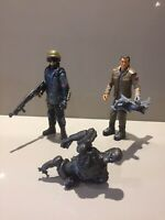 "Terminator Salvation 5"" Figure Bundle John Connor Marcus Lot"
