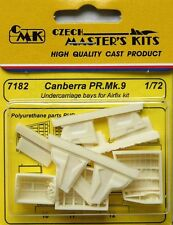 Czech Master 1/72 Canberra PR. Mk. 9 Undercarriage Bays for Airfix # 7182