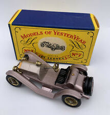 MATCHBOX LESNEY Models of Yesteryear Y-7 Mercer 1913 Raceabout Type 35 J