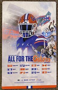 2021 Florida Gators Magnet Schedule 🏈 Cool College Football Sked 🏈