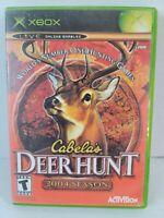 Cabela's Deer Hunt: 2004 Season Microsoft Xbox No Manual