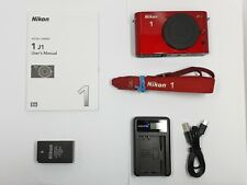 Nikon 1 J1 10.1MP Digital Camera - Red (Body only) BOXED