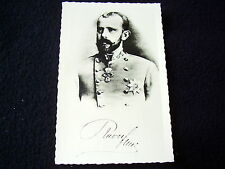 LOVELY OLD PPC: ROYALTY~RUDOLF CROWNPRINCE OF AUSTRIA~REAL PHOTO