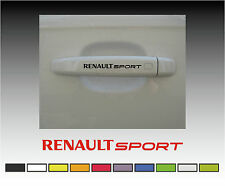 RENAULT Sport Premium Door Handle Decals Stickers