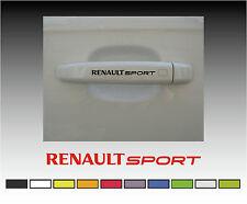 RENAULT Sport Premium Door Handle Decals Stickers