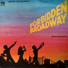 FORBIDDEN BROADWAY - HIT MUSICAL REVUE - ORIGINAL CAST - DRG LP - 1984
