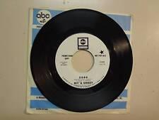 """BIT 'A SWEET: 2086 2:40- A Second Time 3:20-U.S. 7"""" 1968 ABC Records 11125 DJ"""