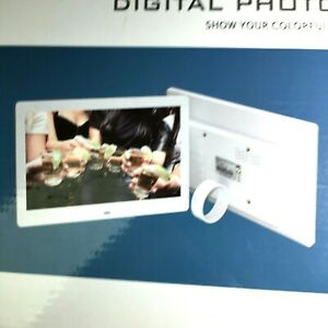 """10"""" Unbranded Digital Picture Frame TFT-LCD Screen MP3/USB  MPEG Supports Mem Cd"""