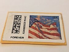 Stamp, USA, Forever, Flag, Used For Stamp Collectors
