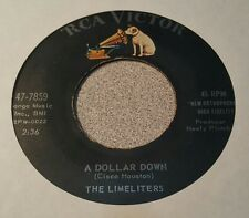 Limeliters, The ‎– A Dollar Down / When Twice The Moon Has Come And Gone ~ (VG+)