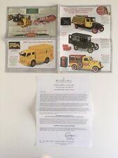 Danbury Mint 1/24 Coca-Cola Diecast Vehicles Brochure-Flyer Only