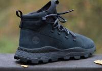 Timberland Brooklyn Alpine Chukka Black Nubuck Mens Boots Shoes RRP £140