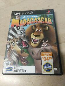 DreamWorks Madagascar PlayStation 2 PS2 DreamWorks  Activision  Toys For Bob