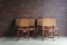 Cane Dining Chairs ~ French Provincial Dining Chairs ~ Set of 6 Dining Chairs